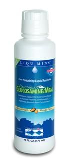 Liquid Vegetarian Glucosamine/MSM (16 oz) Trace Mineral Research