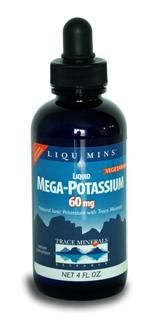 Mega-Potassium - 60 mg (4 oz.) Trace Mineral Research