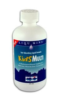 Kid's Multi Liquid (8 oz.) Trace Mineral Research