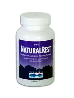 NaturalRest (120 Tabs) Trace Mineral Research