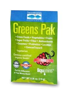 Greens Pak Berry (30 pak) Trace Mineral Research