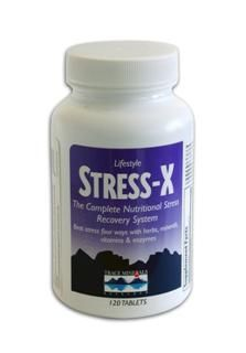 Stress-X (120 Tabs) Trace Mineral Research