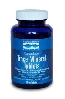Trace Mineral Tablets (90 Tabs) Trace Mineral Research