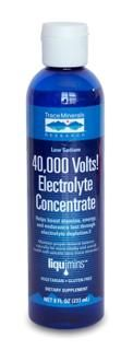 40,000 Volts (8 oz) Trace Mineral Research
