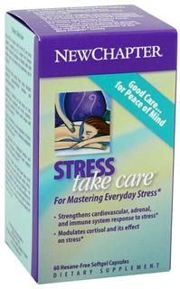 Stress Take Care  (60 soft gels)* New Chapter Nutrition