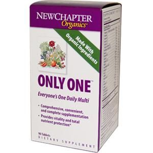 Only One  (72 tablets)* New Chapter Nutrition