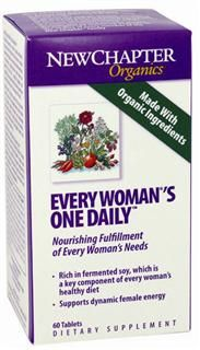 Every Woman's One Daily  (60 tablets) New Chapter Nutrition