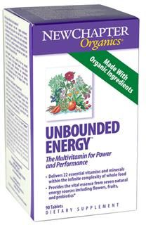 Unbounded Energy  (90 tablets)* New Chapter Nutrition