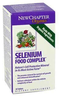 Selenium Food Complex (30 tablets)* New Chapter Nutrition