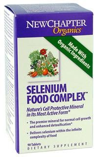 Selenium Food Complex (90 tablets)* New Chapter Nutrition