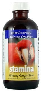 Stamina - Ginseng Ginger Tonic  (4 oz)* New Chapter Nutrition