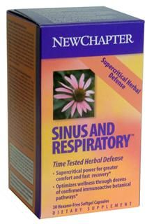Supercritical Sinus and Respiratory  (30 soft gels)* New Chapter Nutrition