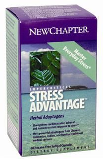 Supercritical Stress Advantage  (60 soft gels)* New Chapter Nutrition