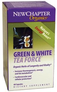 Green & White Tea  (60 veg.capsules)* New Chapter Nutrition