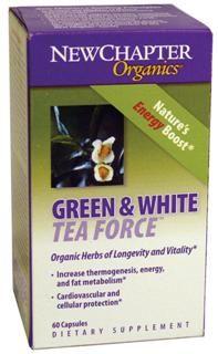Green & White Tea  (60 veg.capsules)* New Chapter Nutrition