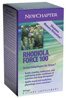 Rhodiolaforce-100  (30 caps)* New Chapter Nutrition