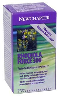 Rhodiolaforce-300  (30 caps)* New Chapter Nutrition