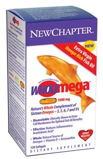 Wholemega (1000mg 120 caps)* New Chapter Nutrition