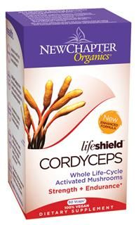 LifeShield Cordyceps (60 vcaps)* New Chapter Nutrition