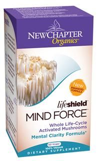 LifeShield Mind Force (60 vcaps)* New Chapter Nutrition