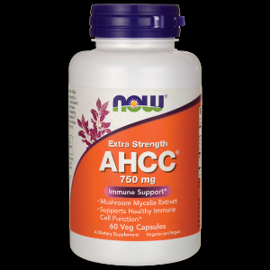 AHCC (60 Vcaps 750 mg) NOW Foods
