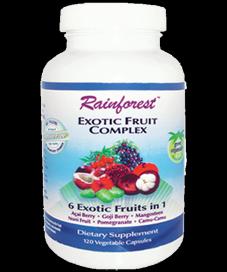 Exotic Fruit Complex (120 capsules)* Rainforest