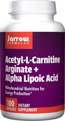 Acetyl L-Carnitine plus ALA  (500 mg 100 capsules) Jarrow Formulas