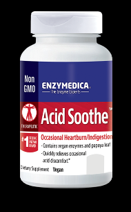 Acid Soothe (30 caps)* EnzyMedica