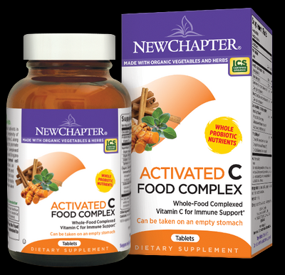 Activated C Food Complex (90 tablets)* New Chapter Nutrition