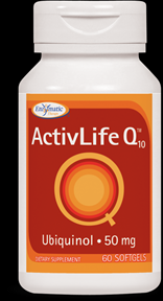 ActivLife Q10 Ubiquinol 50 mg (60 softgels) Enzymatic Therapy