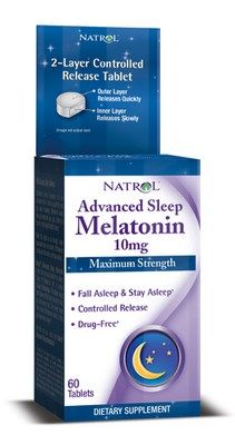 Advanced Sleep Melatonin (10mg - 60 tablets) Natrol