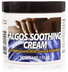 Algos Soothing Cream for Pain Relief (4 oz) Libido Edge Labs