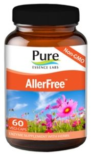AllerFree | Enzymatic Allergy Control (60 caps)* Pure Essence Labs
