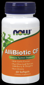 Allibiotic (60 softgels) NOW Foods