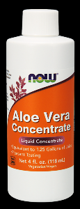 Aloe Vera Concentrate (4 oz) NOW Foods