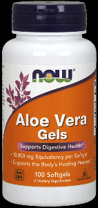 Aloe Vera (100 softgels 10,000 mg) NOW Foods
