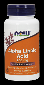 Alpha Lipoic Acid (60 Vcap 250 mg) NOW Foods