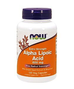 Alpha Lipoic Acid (120 Vcap 600 mg) NOW Foods