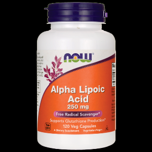 Alpha Lipoic Acid (120 Vcap 250 mg) NOW Foods