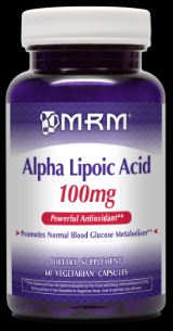 Alpha Lipoic Acid  (100mg  60 Vcap) Metabolic Response Modifiers