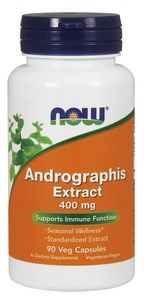 Andrographis Extract (400 mg|90 Vcaps) NOW Foods