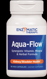 Aqua-Flow (90 veg caps) Enzymatic Therapy