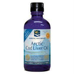 Arctic Cod Liver Oil Orange* 16 oz Nordic Naturals