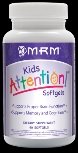 Attention! Advanced Brain Formula for Children  (90 softgels) Metabolic Response Modifiers