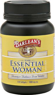 Essential Woman (120 softgels) Barleans Organic Oils