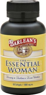 Essential Woman (60 softgels) Barleans Organic Oils