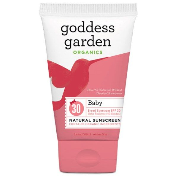 Baby Natural SPF 30 Sunscreen 3.4oz Tube* Goddess Garden Organics
