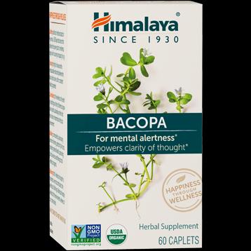 Bacopa Extract (60 caplets) Himalaya Herbals