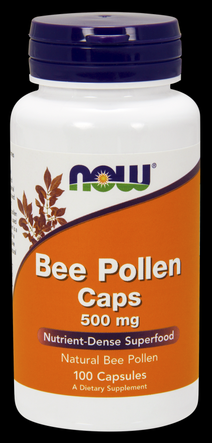 Bee Pollen 500 mg (250 Caps) NOW Foods