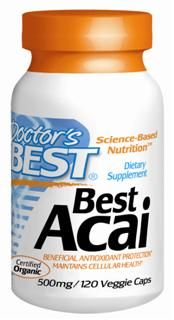 Best Acai (500 mg) (120 vcaps) Doctor's Best